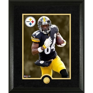 Antonio Brown Canvas Art Gold Coin Photo Mint - Multi-color