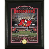 "Tampa Bay Buccaneers ""Stadium"" Bronze Coin Photo Mint - Multi-color"