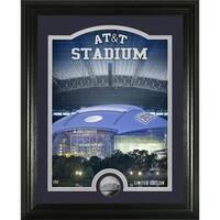 """Dallas Cowboys """"Stadium"""" Silver Coin Photo Mint - Multi-color"""