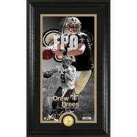 Drew Brees Supreme Bronze Coin Photo Mint - Multi-color