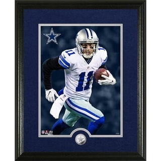 Cole Beasley Canvas Art Silver Coin Photo Mint - Multi-color