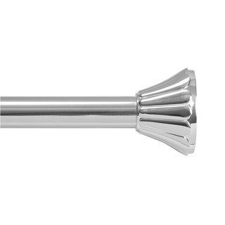 Kenney Daisy Adjustable Tension Shower Rod - Chrome