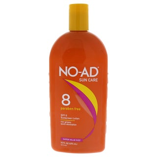 NO-AD 16-ounce Protective Tanning Lotion SPF 8