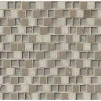 3/4x1 Offset Brick Pattern Blend Grey (Case of 10)