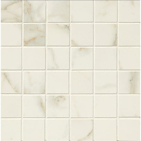 2x2 Mosaic On 12In sheet Calacatta (Case of 10)