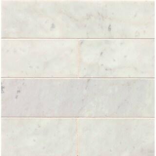 3x12x3/8 Honed (White)