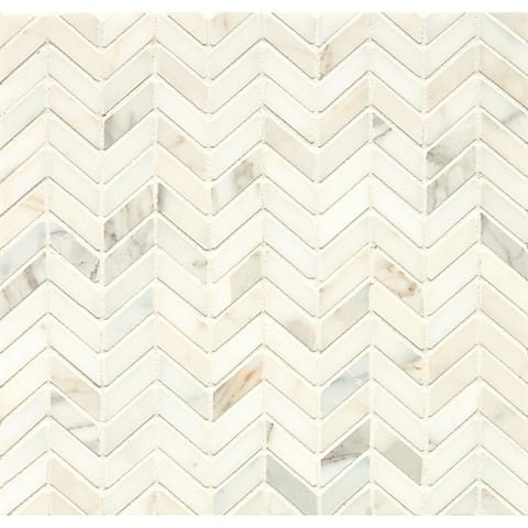 Chevron Mosaic Honed