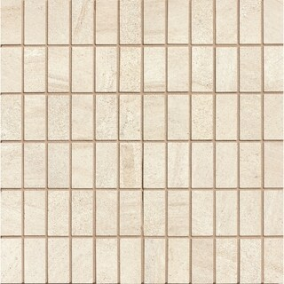 Purestone Beige 1x2 Mosaic On 12In (Case of 5)