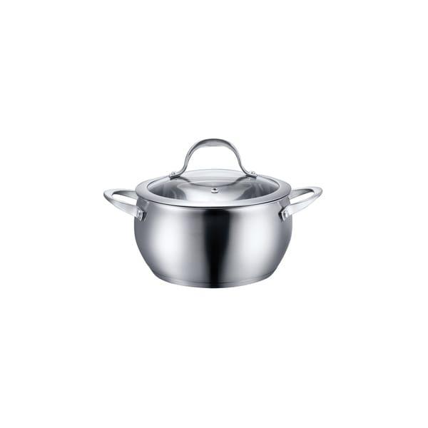 Diamond Home Stainless Steel Cookware Bean 3-Quart Pot