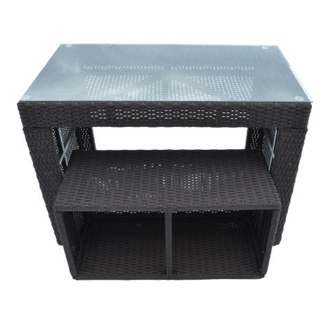 Canadian Spa Straight Bar & Stool - Square Surround Furniture