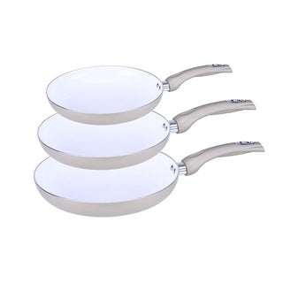 Ceramic Frying Pan 11in. - 4mm Aluminum with Comfort Handle up to 400°