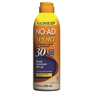 NO-AD Sport Continuous Spray Sunscreen SPF 30