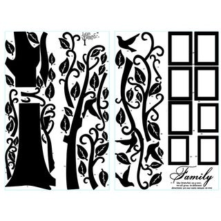 Large Photo Picture Frame Family Tree Removable Wall Sticker Decor Decal