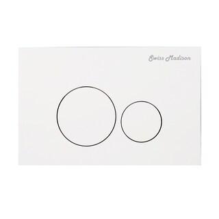 Swiss Madison® Wall Mount Toilet Actuator Flush Push button Plate