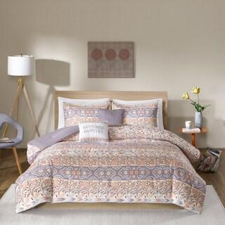 Intelligent Design Mae Grey 5-piece Comforter Set