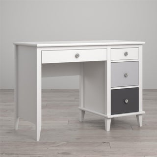 Little Seeds Monarch Hill Poppy Desk (Option: White and Grey)