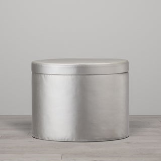 Little Seeds Metallic Ottoman