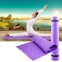 6mm Thick Non-Slip Exercise Yoga / Pilates Mat