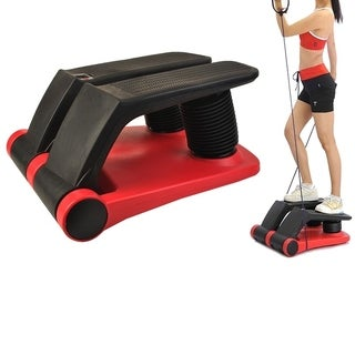 New Air Stepper Climber Exercise Fitness Thigh Machine W/DVD + Resistant Cord
