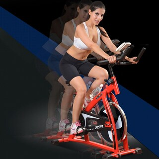 Indoor Exercise Cycling Bike / Bike Trainer - Red