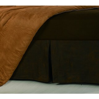 Hiend Accents Faux Leather 16-inch Drop Bedskirt (2 options available)