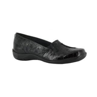 Easy Street Women's Purpose Comfort Slip On (Black Patent Crocco)|https://ak1.ostkcdn.com/images/products/16994433/P23277210.jpg?impolicy=medium