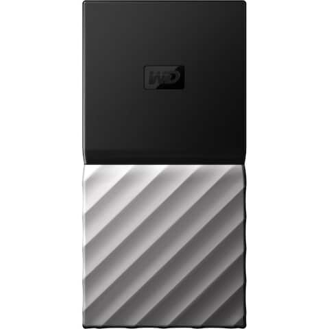 WD My Passport WDBK3E0010PSL-WESN 512 GB Solid State Drive - External - Portable
