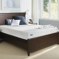 Sealy Conform Essentials Cushion Gel Memory Foam 10-inch Twin XL-size Firm Mattress Set