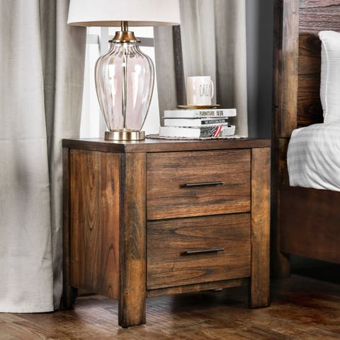 Carbon Loft Marquez Rustic Oak 2-drawer Chest
