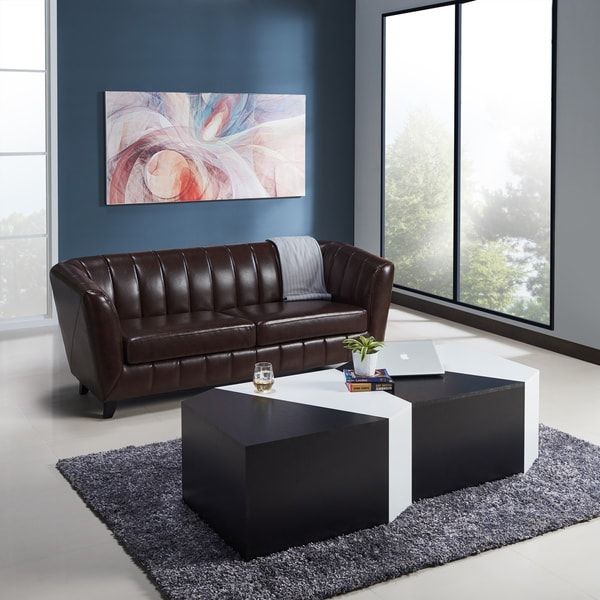 Great Furniture Of America Clerington Modern Two Tone Black/White Modular Coffee  Table   Free Shipping Today   Overstock.com   23277490