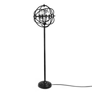 LNC Orb Floor Lamp, Glass Reading Lamp for Living Room, Bedroom