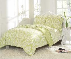 Marcheline Mint Mini 5-piece Bed in a Bag with Sheet Set - Thumbnail 2