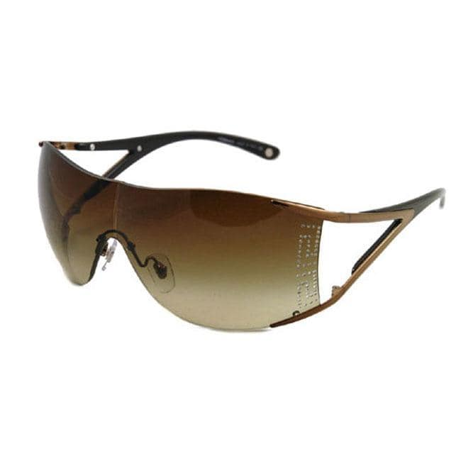 Versace Rimless Sunglasses  versace ve 2087b women s rimless wrap sunglasses free shipping