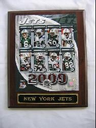 New York Jets Team Picture Plaque - Thumbnail 1