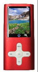 Visual Land VL-567k VL-G4 4GB Red MP3 Player