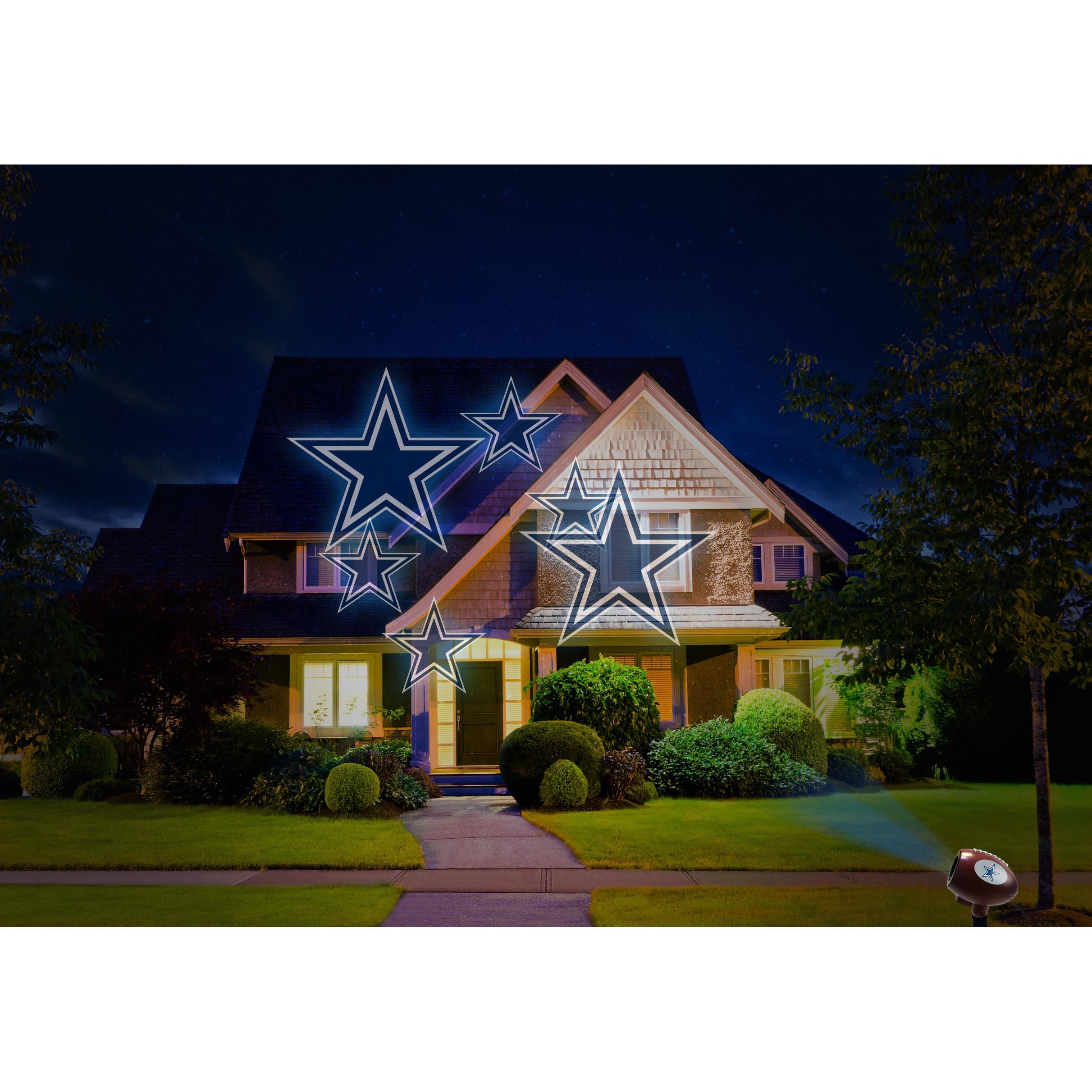 2017 NFL Team Pride Glow Bright LED Projector Light (NFL-...