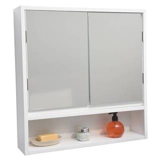 Medicine Cabinet Bathroom Cabinets Storage Shop The Best Deals