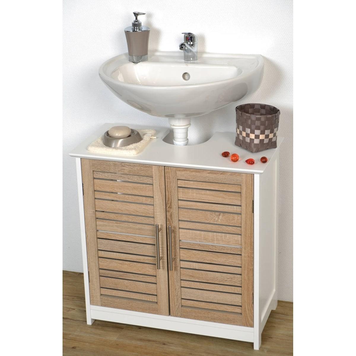 Shop Non Pedestal Bath Under Sink Vanity Cabinet Stockholm Oak
