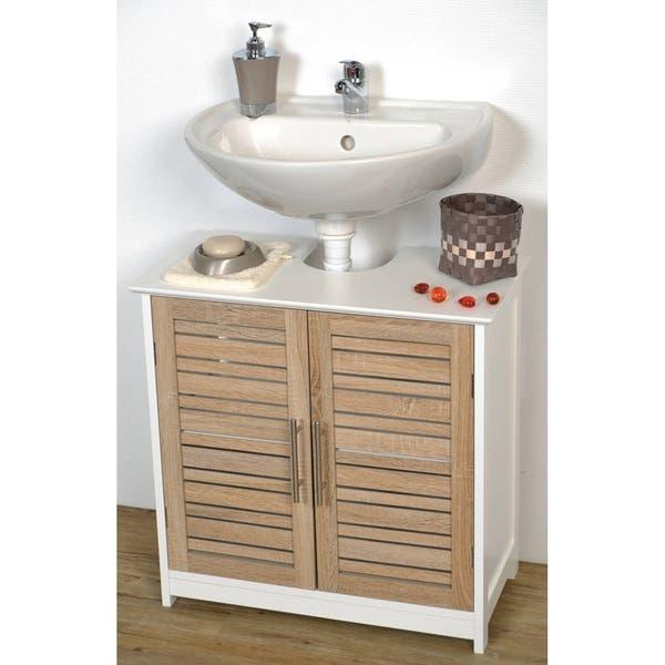 A Modern Living Room, Shop Black Friday Deals On Non Pedestal Bath Under Sink Vanity Cabinet Stockholm Oak Overstock 17000809
