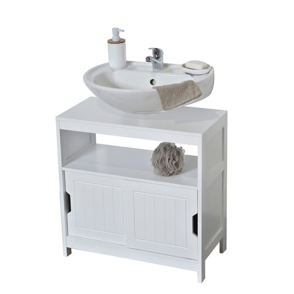 Shop Evideco Non Pedestal Bathroom Under Sink Cabinet Cap