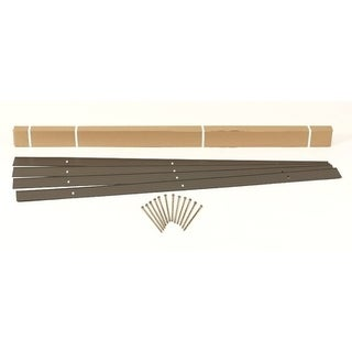 EasyFlex Aluminum Landscape Edging Project Kit, Bronze