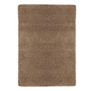 "Berrnour Home Plush Shaggy Beige Shag (6'7"" X 9'3"") Area Rug"