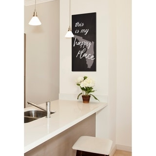 This Is My Happy Place Florida Stretched Canvas Wall Art