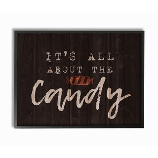 Its All About the Candy Framed Giclee Texturized Art
