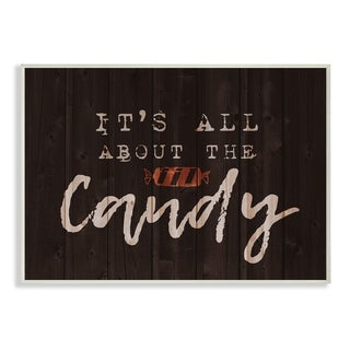 Its All About the Candy Wall Plaque Art