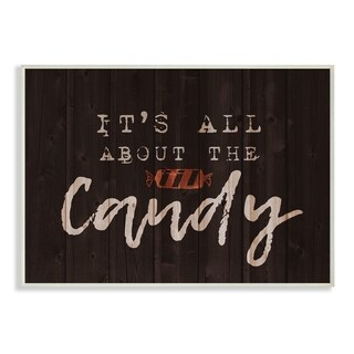 Its All About the Candy Wall Plaque Art - 10 x 15
