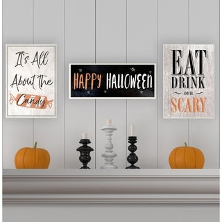 Eat Drink and Be Scary Wall Plaque Art