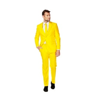OppoSuits Men's Yellow Fellow Suit