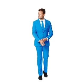 OppoSuits Men's Blue Steel Suit
