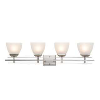 Yosemite Home Décor Half Dome Collection Four Lights Vanity